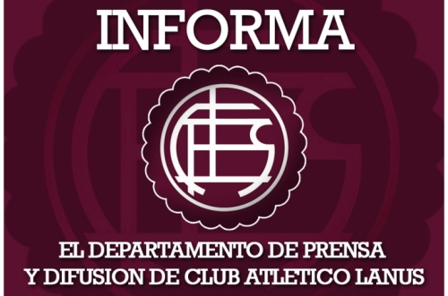 Acreditación  Lanus vs Olimpo